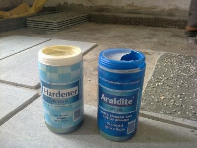 araldite-and-hardener