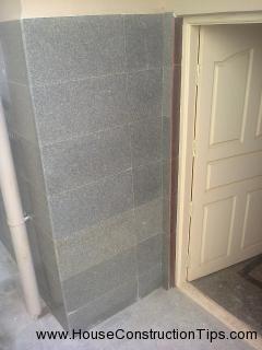 Granite clading corner