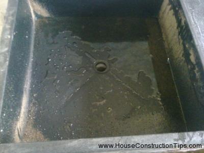 Granite joint sink