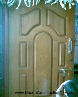 Teak Door Design 1