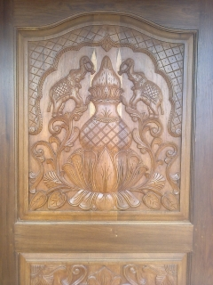 Indian House  Door Designs Teak Wood