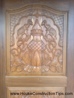main teak door design kalasha