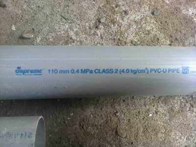 110 mm pipe 4 guage