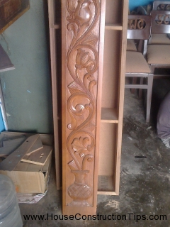 Door frame teak designs