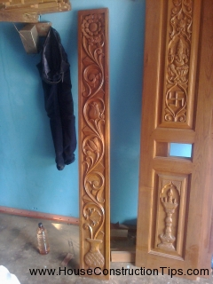 Puja room door design