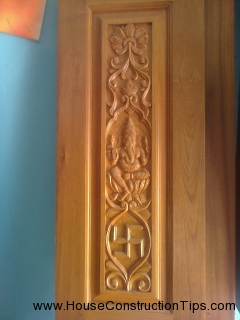 puja room door design 3