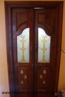 Marvelous Puja Room Door Design Part 22