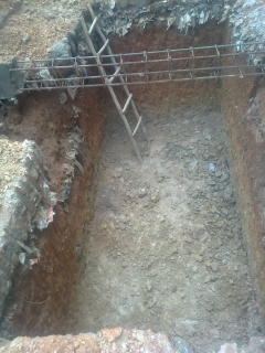 soil-digged-for-sump-construction